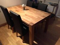Brand new oak table still in a box £400 ONO open to decent offers no time wasters