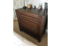 Sonoma M&S wardrobe and 4 drawer chest of drawers