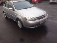 Chevrolet Lacetti Automatic 55 Plate Good Condition and drive Long Mot