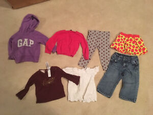 Girls brand name lot size 18-24 mos (7 items)