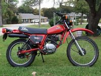 Wanted Honda XL or XR 125/185/200 Dead or Alive