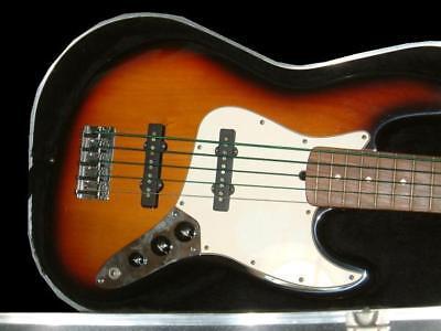 Fender USA 5 string Jazz Bass beutiful rare useful EMS F/S*