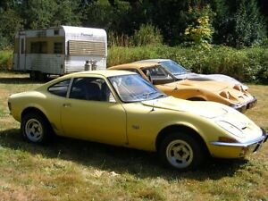 LOOKING for OPEL GT parts cars