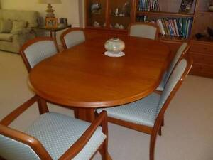 PARKER DINING TABLE AND FOUR (4) CHAIRS Currumbin Gold Coast South Preview
