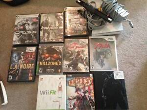 Wii & Games for Playstation and PC for sale!