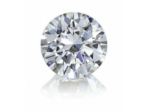 1 Carat mm Round Cut F Color I1 Clarity Natural Loose Stone Diamond
