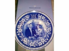 To celebrate the marriage of Charles and Camilla Wedgwoood plate £30.00