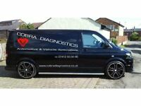 Mobile Mechanic, Mobile Car Diagnostics, Mobile Service Throughout The Midlands. 7 Days a week!
