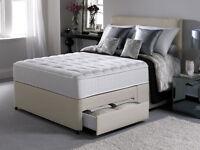 New sealed - Double Silentnight Essentials Luxury Pocket Sprung Matress + 4 drawer divan base.