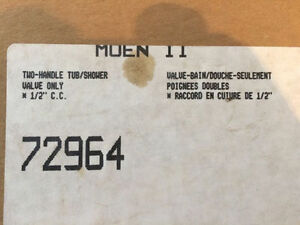 New in Box, Moen Two Handle Tub and Shower Valve Edmonton Edmonton Area image 2