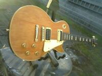 Bill Nash modified 2003 gibson les paul with case bolan mark1 chablis