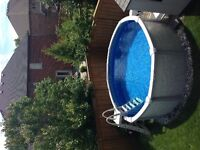 Above Ground Pool - 12 x 12 Round  - Pioneer