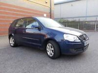 Volkswagen Polo 5door Match 1.4 petrol manual 2009 1female owner from new Full history