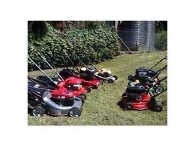 Lawnmowers/Strimmers/chainsaws petrol wanted spares/ repair/working... Wanted Wanted