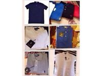 Ralph Lauren mens polo t shirt small pony short sleeves £15 each cotton