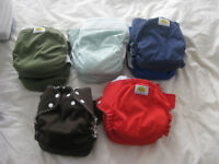 10 couches lavables AMP taille L - Washable diapers