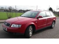 Audi A4 1.9 TDI Manual 2003 Estate139k MOT Engine in Excellent Condition
