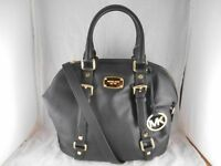 MICHAEL KORS LEATHER BLACK BAG AUTEHNTIQUE!!!