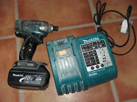 Makita impact with battery and charger.