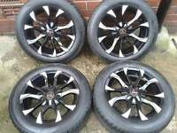 "WOLFRACE ASSASSIN 15"" ALLOYS. 4X100PCD & 4X108PCD SUZUKI SWIFT VW VAUXHALL FORD PEUGEOT CITROEN"