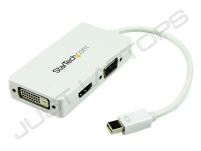 Nuevo StarTech Mini Displayport A HDMI VGA DVI Adaptador Convertidor Hub