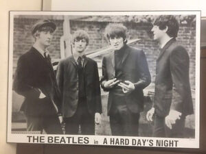 Very unique Beatles solid poster Kitchener / Waterloo Kitchener Area image 1