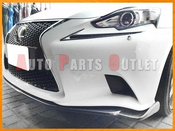 V-Style Carbon Fiber Front Bumper Lip For 14-16 LEXUS IS250 IS350 Sedan F-Sport
