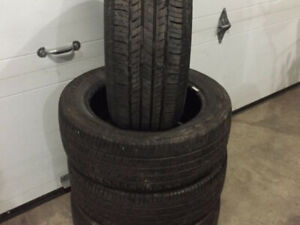 Set of 4 205/55/16 tires