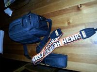 Camera Bag & Camera Strap