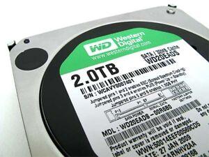 Disque Dur / Hard Drive 2TB Western Digital WD