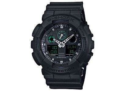 Crazy Deal New  G-Shock GA100MB-1A Black Analog-Digital 200M WR Mens Watch