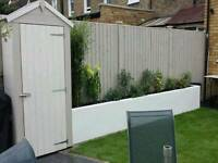 Fence Painting,Decking Painted, Wrought Iron Fence,Walls Painted,Shed Painting