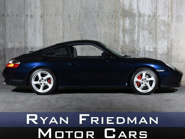 2003 Porsche 911 Carrera 4S 6094 Miles Midnight Blue Metallic Coupe 3L NA H6 dou