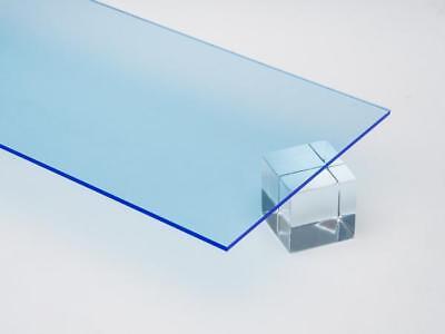 2 Pack 14 6mm Blue Neon Fluorescent Acrylic Plexiglass Sheet 8x12 Sale Azm