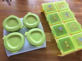 Baby feeding pots