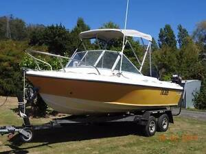 Sea Bird 15ft Runabout with 60 hp 4 stroke Mercury Lanena West Tamar Preview
