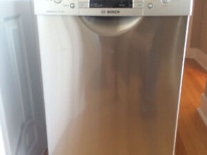 "Bosch 18"" dishwasher"