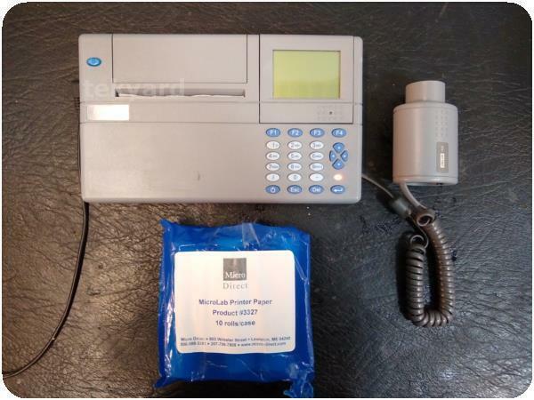 MICRO MEDICAL MICROLAB ML3500  SPIROMETER ! (235086)