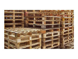 Used Wooden Shipping Pallets 1200 x 1000 Size, £1.50 each, Collection Only
