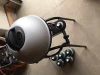 Outdoor George Forman propane grill