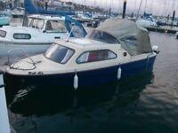 Shetland Family Four Cabin Cruiser 50hp £2500 massive price drop to pay urgent vet bills