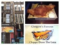 "Full and Part-Time Waiting Staff Required for ""Chippy Doon the Lane"""