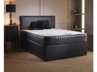-- BUY NOW -- CASH ON DELIVERY -- BRAND NEW Double Divan Base + SEMI Orthopaedic Mattress --