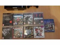 Playstation 3 80GB with 9 games & 2 controllers
