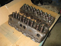 Small block Chevy Bow Tie 2 cylinder heads