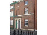 Office to let in New Walk area of Leicester on monthly licence: £50 per week