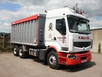 lgv class 2 bulk tipper driver required