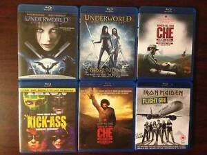 6 Blu-Ray Movies For Sale