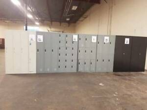 New/Used Lockers , Storage Cabinets, Shelving, Office Furniture