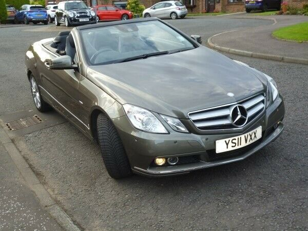 Stunning E-Class Convertible For Sale / Low Mileage / Full Mercedes Service  History  | in East Kilbride, Glasgow | Gumtree